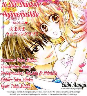 16-sai, Shinkon Hajimemashita.