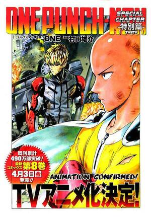 One Punch Man Young Jump Special