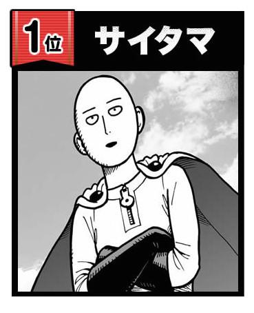 (سايتامان) الأول في التصويت على شخصيات One-Punch Man