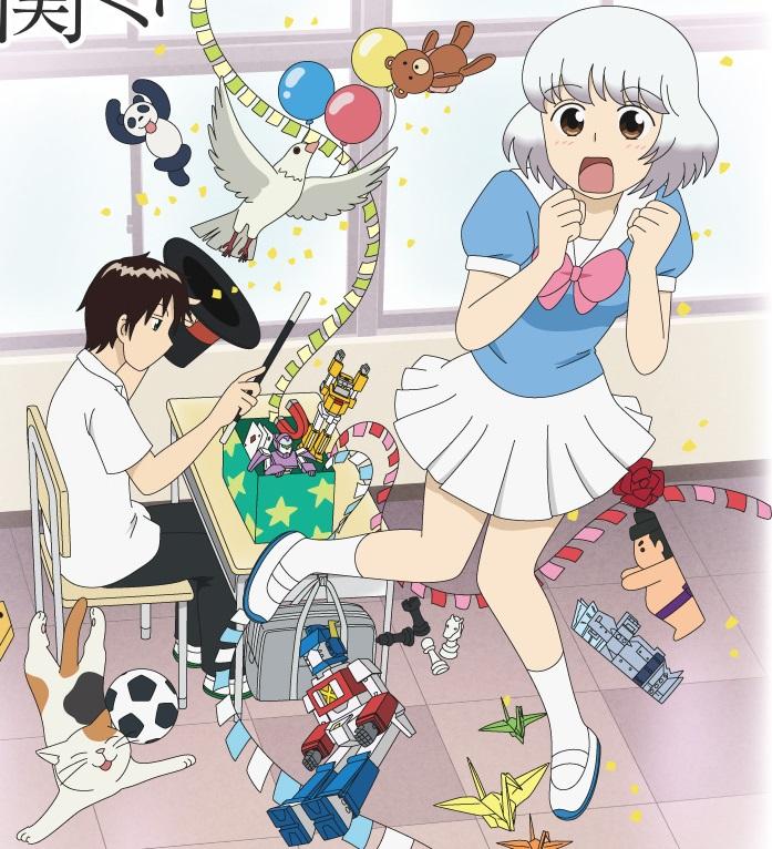 المانجا Tonari no Seki-kun تحصل على مسلسل تلفزيوني